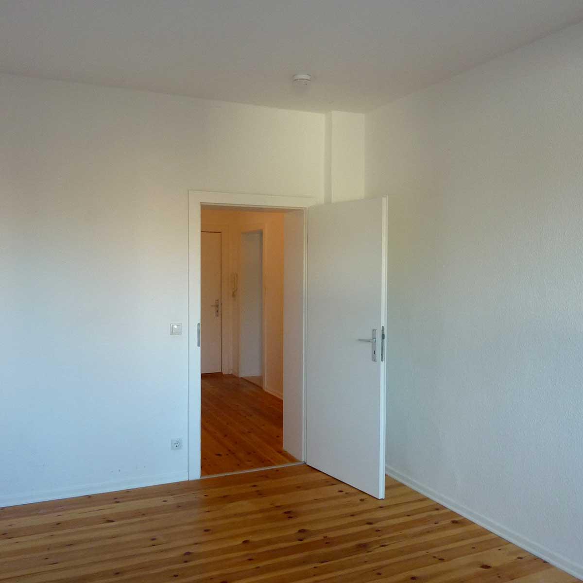 Renovierte Wohnung der Baugenossenschaft Kiel Hassee
