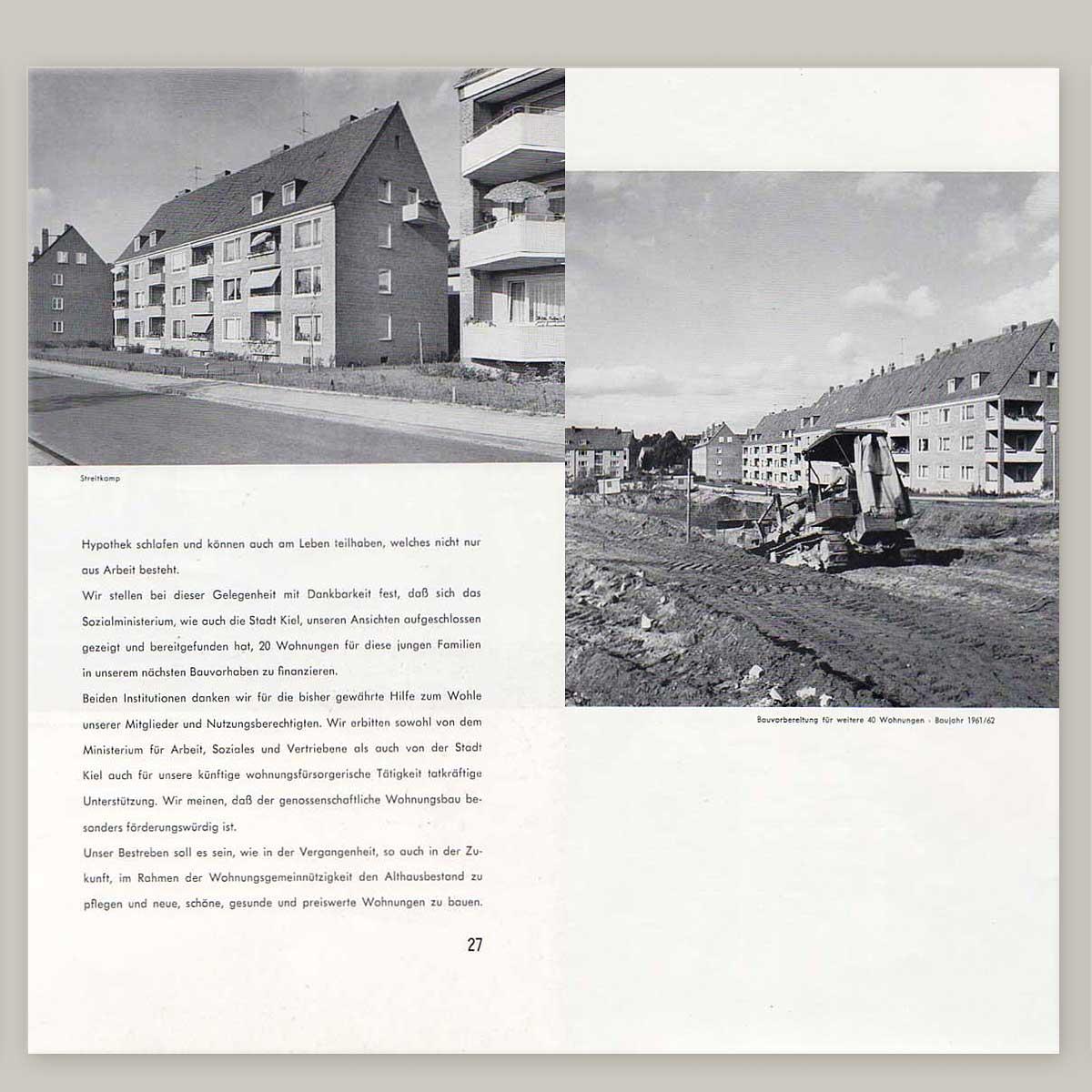 25 Jahre Baugenossenschaft Kiel Hassee