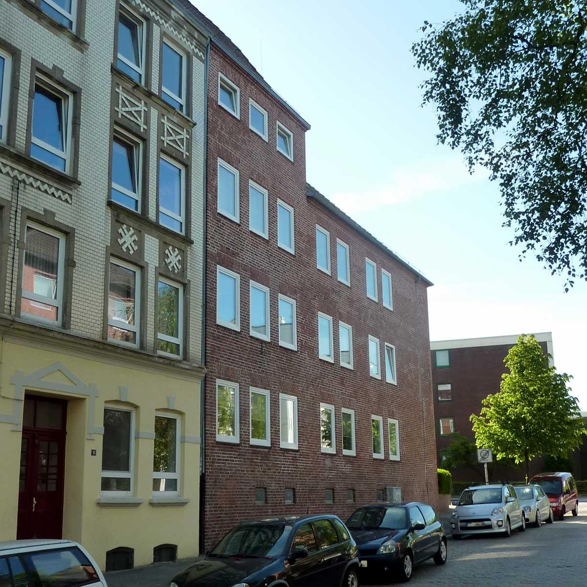 Wohnungen der Baugenossenschaft Kiel Hassee in der Rendsburger Landstraße 106